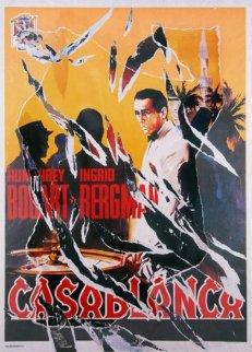 Casablanca II AP 2004 Limited Edition Print - Mimmo Rotella