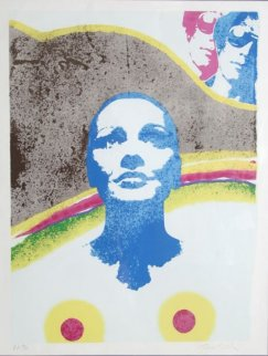 Chiquita 1979 Limited Edition Print - Mimmo Rotella