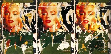 Homage to Marilyn AP Limited Edition Print - Mimmo Rotella