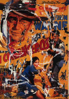 Commancheros Limited Edition Print - Mimmo Rotella