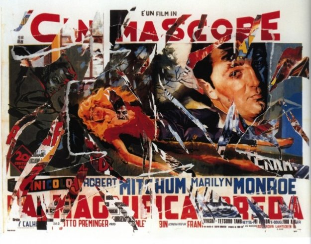 River of No Return TP (Idaho) Limited Edition Print by Mimmo Rotella