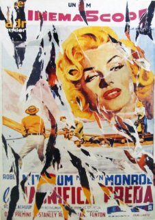 River of No Return TP Limited Edition Print - Mimmo Rotella