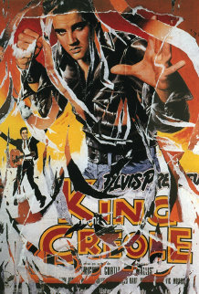 King Creole (Elvis) TP Limited Edition Print - Mimmo Rotella