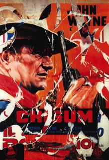 Chisum (John Wayne) Limited Edition Print - Mimmo Rotella
