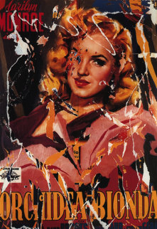 Ladies of the Chorus Limited Edition Print by Mimmo Rotella