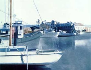 Moss Landing, California 1981 Limited Edition Print by G.H Rothe