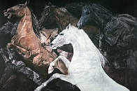 While They Were Running 1981 Limited Edition Print by G.H Rothe - 0