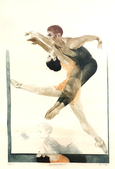 Ballet Picture 1 1980 Limited Edition Print by G.H Rothe