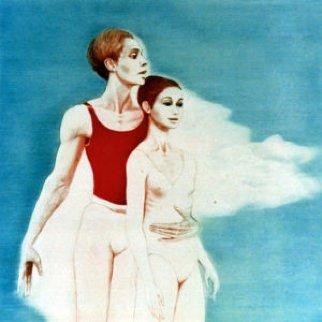 Pas De Deux 1977 Limited Edition Print - G.H Rothe