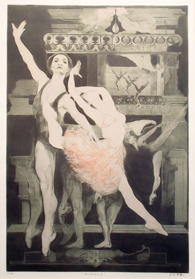 Arabesque II 1973 Limited Edition Print by G.H Rothe