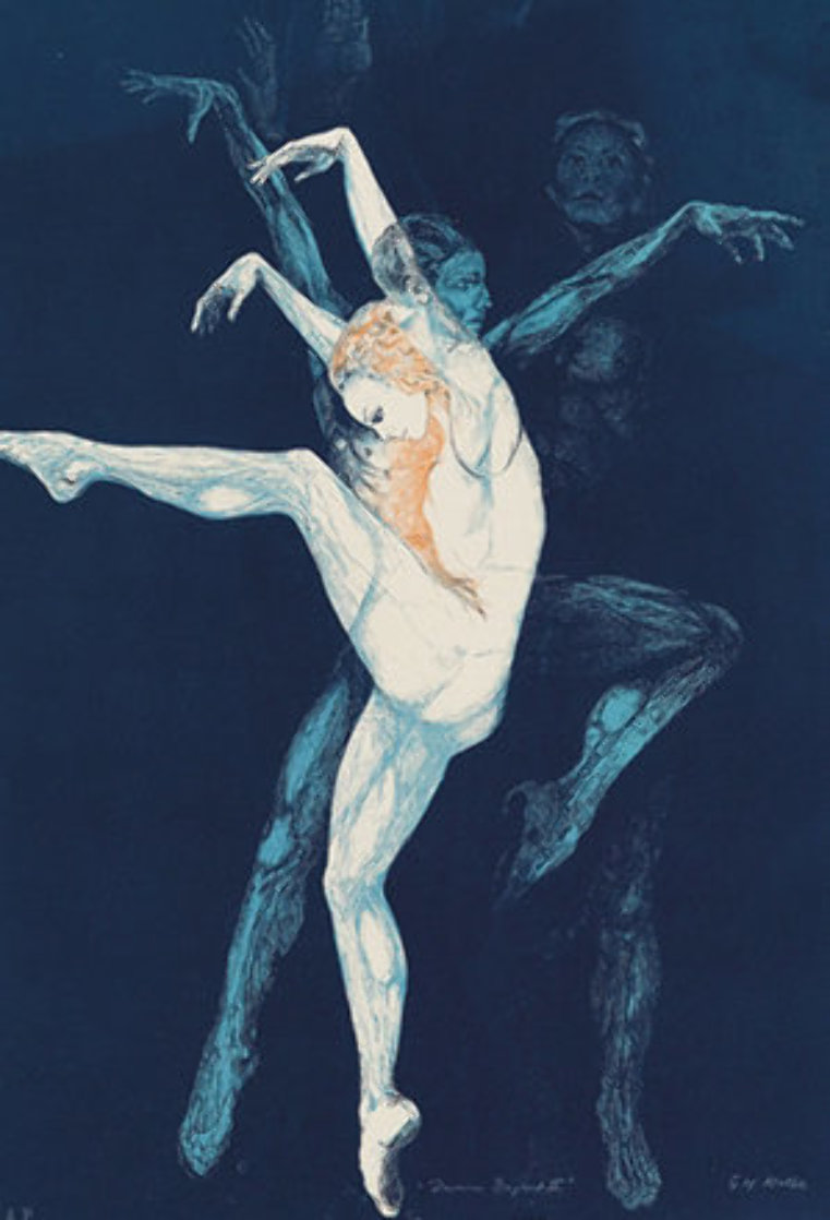 Dance Bejart 1974 Limited Edition Print by G.H Rothe