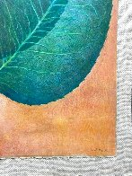 Leaves 1976 42x30 Super Huge Original Painting by G.H Rothe - 4