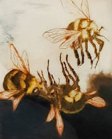 Three Bees 1987 Limited Edition Print by G.H Rothe - 0