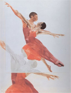 Ballet Picture II 1980 Limited Edition Print - G.H Rothe