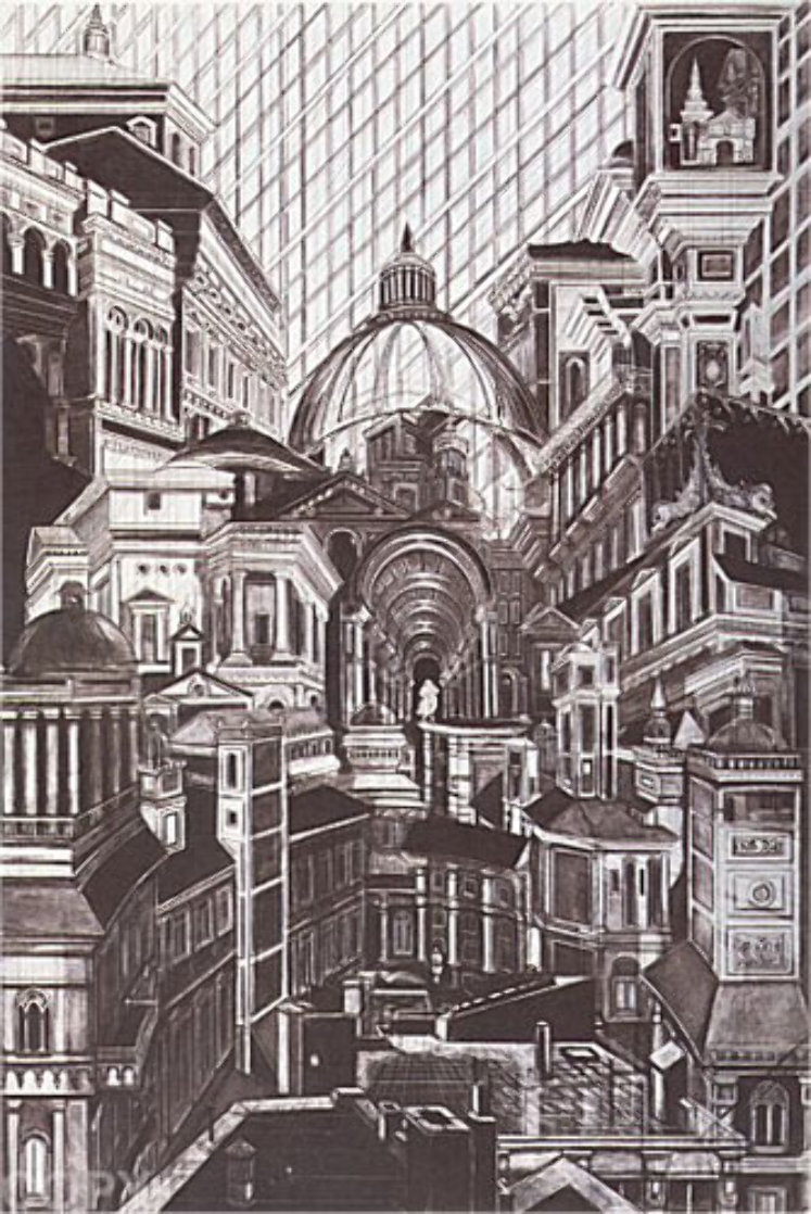 Downtown 1974 Limited Edition Print by G.H Rothe