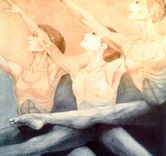 Suzanne (from Large Dance suite) 1976 Limited Edition Print - G.H Rothe