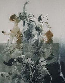 Dance Picture I 1981 Limited Edition Print by G.H Rothe