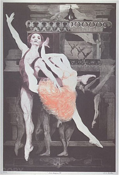 Arabesque II 1971 Limited Edition Print by G.H Rothe