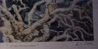 Contemporary Oak Branches Limited Edition Print by G.H Rothe - 2