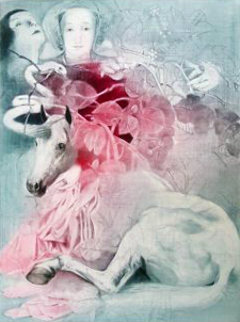 Transformation of the Unicorn 1989 Limited Edition Print by G.H Rothe