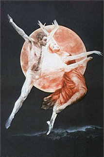 Moondance II 1976 Limited Edition Print by G.H Rothe