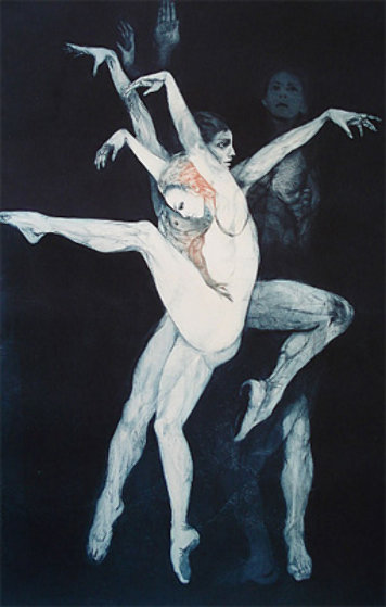 Dance Bejart 1973 Limited Edition Print by G.H Rothe