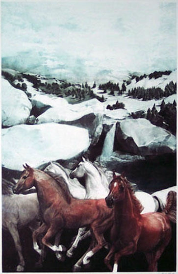 Manitou Deluxe Edition 1986 Limited Edition Print by G.H Rothe