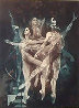 Dance on the Stairs 1988 Limited Edition Print by G.H Rothe - 0