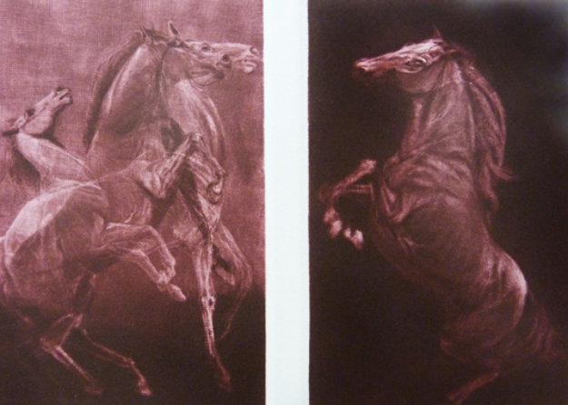Competitors Diptych 1980 Limited Edition Print by G.H Rothe
