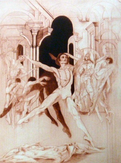 Dance of Tom 1974 Limited Edition Print by G.H Rothe