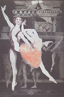 Arabesque  II 1973 Limited Edition Print - G.H Rothe