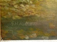 Angel's Road 1977 48x36 Super Huge Original Painting by G.H Rothe - 2