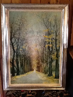 Angel's Road 1977 48x36 Super Huge Original Painting by G.H Rothe - 1
