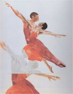 Ballet Picture II 1980 Limited Edition Print by G.H Rothe