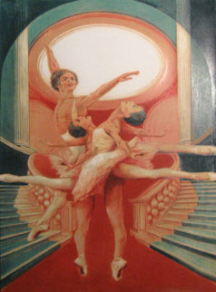 Kirov Impression Of Nureyev 1976 Limited Edition Print - G.H Rothe