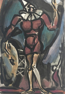 Clown Au Timbale 1938 Limited Edition Print by Georges Rouault