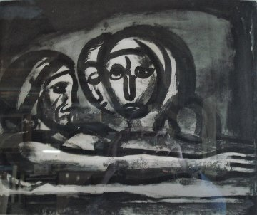 Au Pressoir Le Raisin Fut Foulé (In the Winepress the Grapes Were Crushed) 1948 Limited Edition Print - Georges Rouault