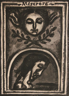 Miserere 1923 Limited Edition Print by Georges Rouault