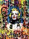 Blonde Bombshell 40x30 Original Painting by Nastaya Rovenskaya - 0