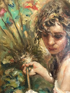 Luz Blanca 2007 27x36 Original Painting by  Royo