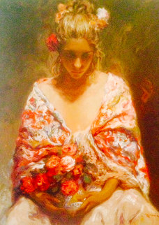 Mirame AP  Limited Edition Print by  Royo