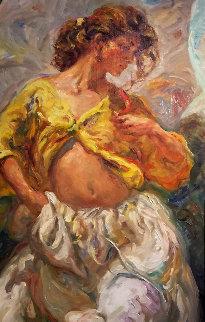 Luz Del Sur 66x36 Original Painting by  Royo
