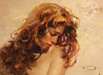 Mistica 2013 27x33 Original Painting by  Royo