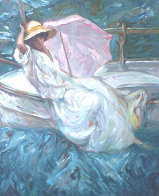 Calma on Clay Panel 2004 Limited Edition Print by  Royo - 0
