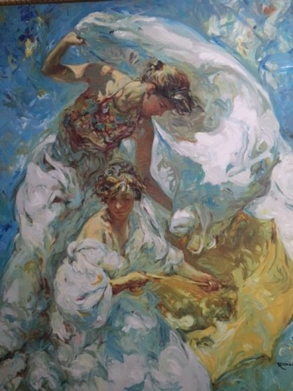 Mediterraneo Embellished Limited Edition Print by  Royo