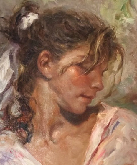 Frescura 29x22 Original Painting by  Royo
