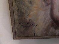 Sola 2001 59x42  Huge Original Painting by  Royo - 1