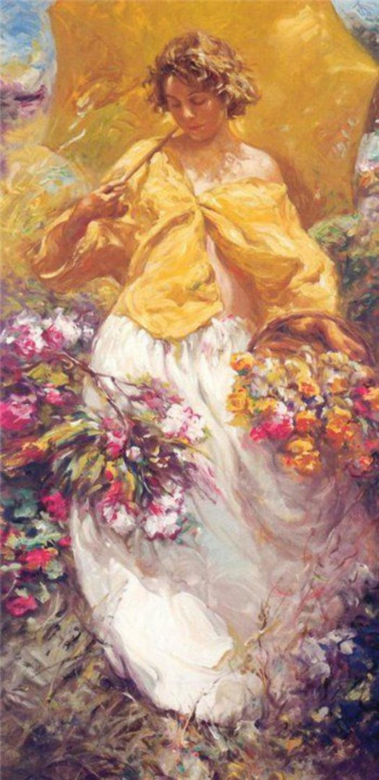 Spring From 4 Seasons 2001 Limited Edition Print by  Royo