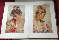 Shawl Suite of 2 Serigraphs  1997 Panel Limited Edition Print by  Royo - 2