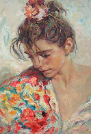 Shawl Suite of 2 Serigraphs  1997 Panel Limited Edition Print by  Royo - 0